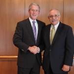 Jim_DiCamillo second picture with George W  Bush
