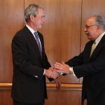 Jim_DiCamillo with George W  Bush